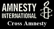 Logo cross amnesty