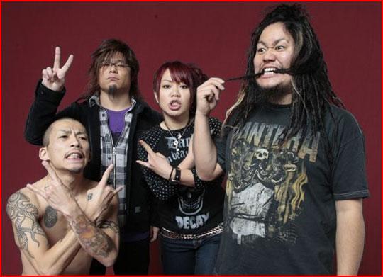 Maximum The Hormone band